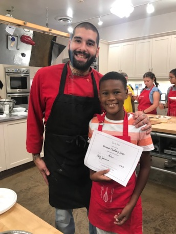 Thank you Chef Nick for your encouraging words.