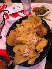 Chicken nachos.