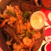 Mixed fajitas.
