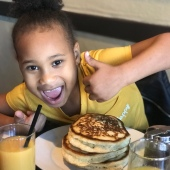 She approved the pancakes