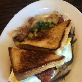 Acadian Breakfast Sandwich