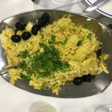 Bacalhau á Brás - Codfish with fried eggs